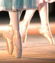 pies de ballerinas
