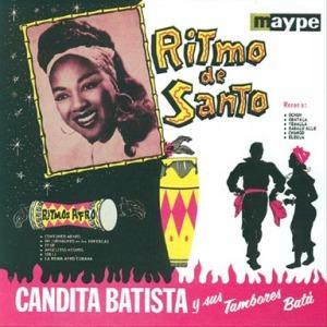 Cartel con Candita y dos bailarines