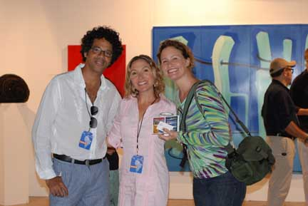artistas en la galeria