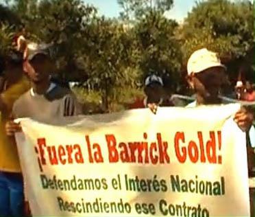 fuera la barrick gold