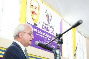 Cayo Claudio Espinal, presidente en funciones del Movimiento Alianza Cultural.